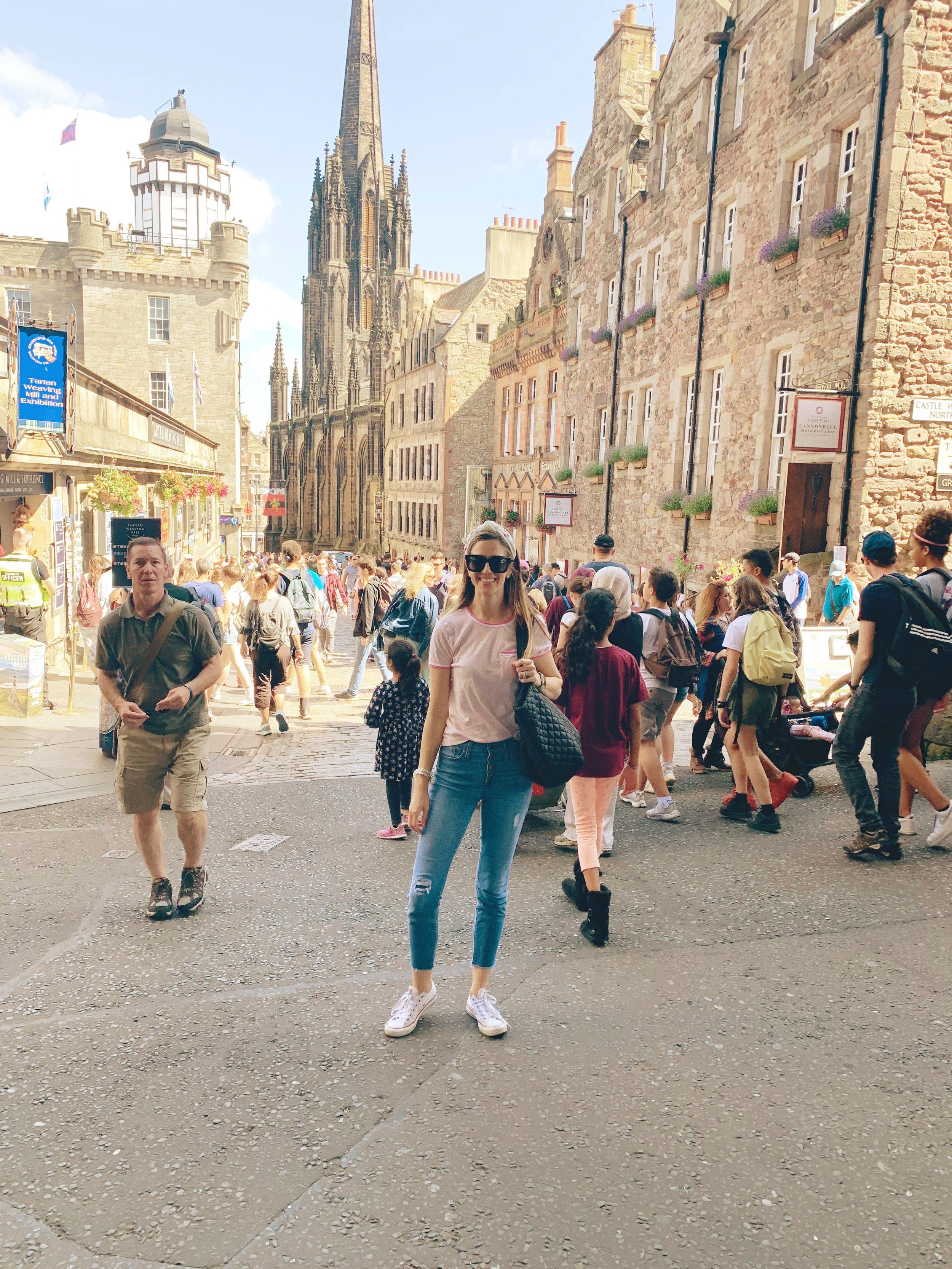 Royal Mile- Edinburgh