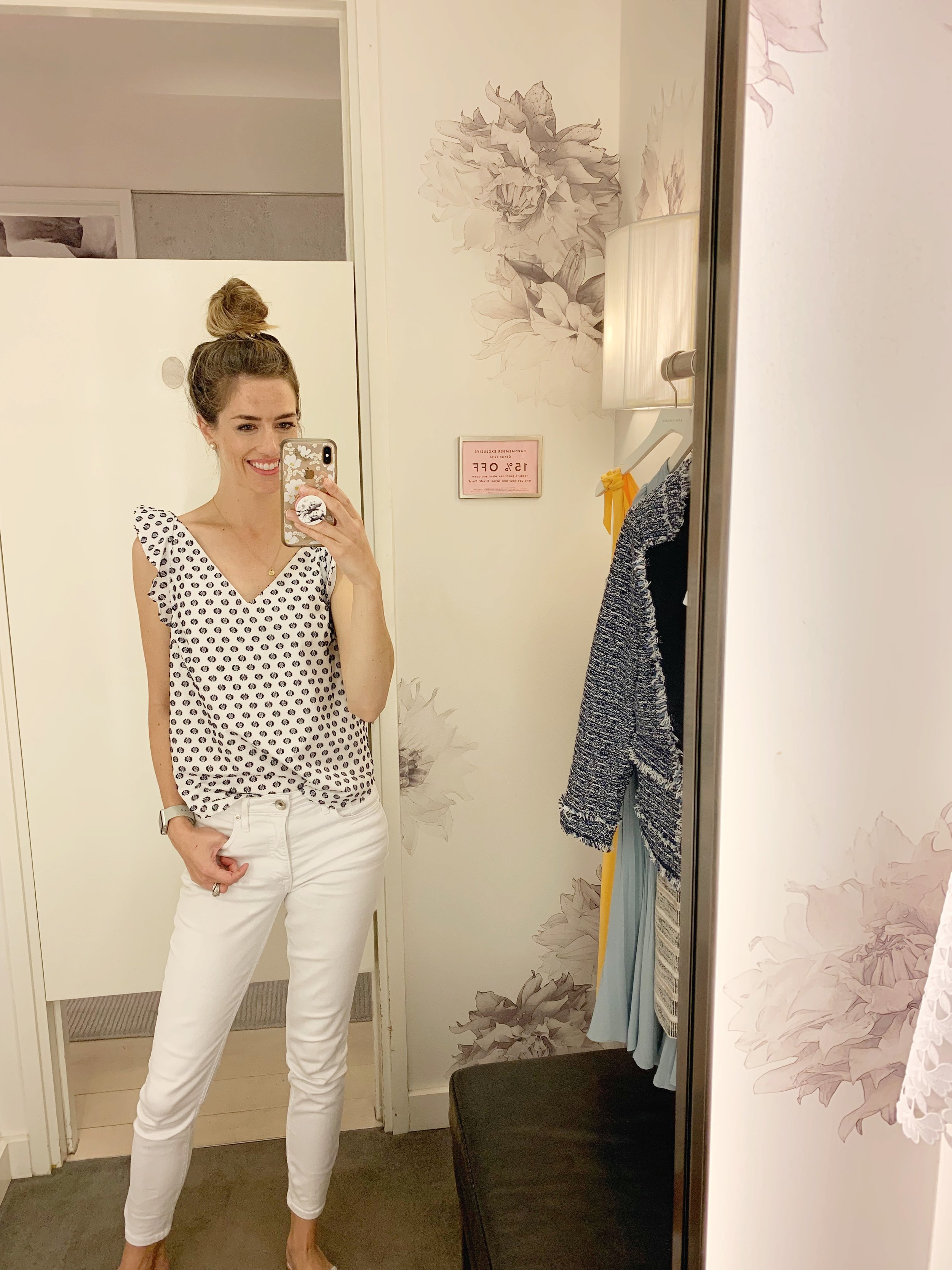 Really liked this top. Its a nice thick material and the dots are textured/raised making it feel like a high quality top. It runs TTS and would look great paired with a chino short, too. Price is $59 plus the additional 50%/60%/70% off depending on how many items you purchase. (70% off is $18)