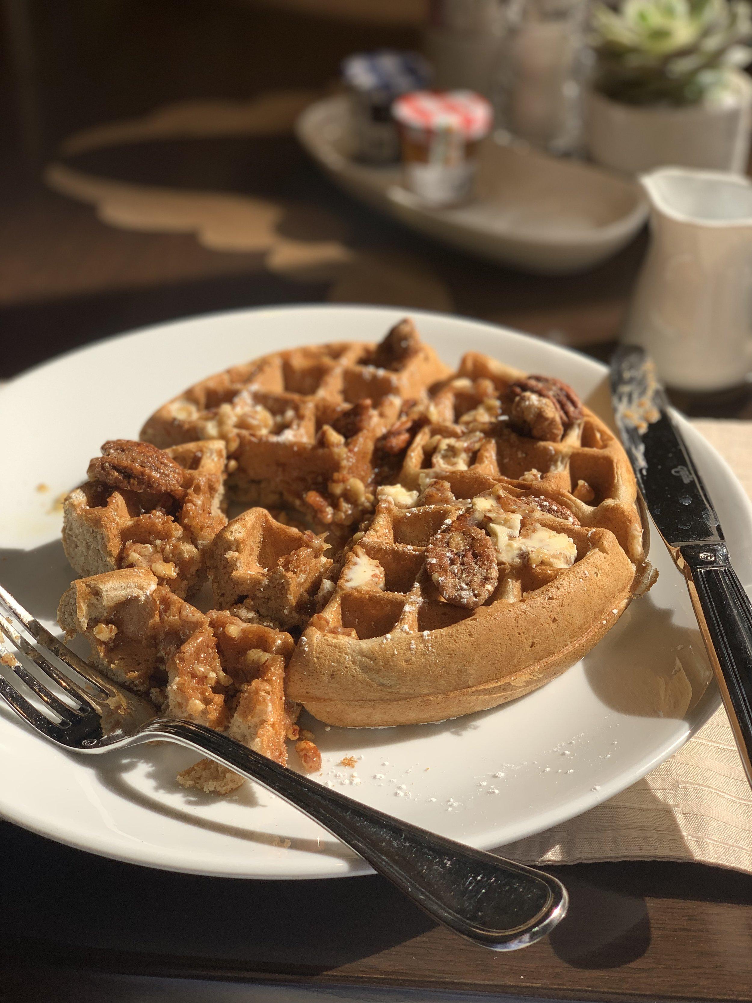 cinnamon waffle- Tribute