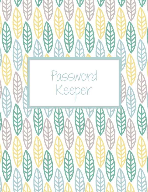 free digital password keeper for goodnotes app