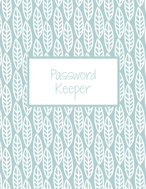 free password keeper - digital for goodnotes
