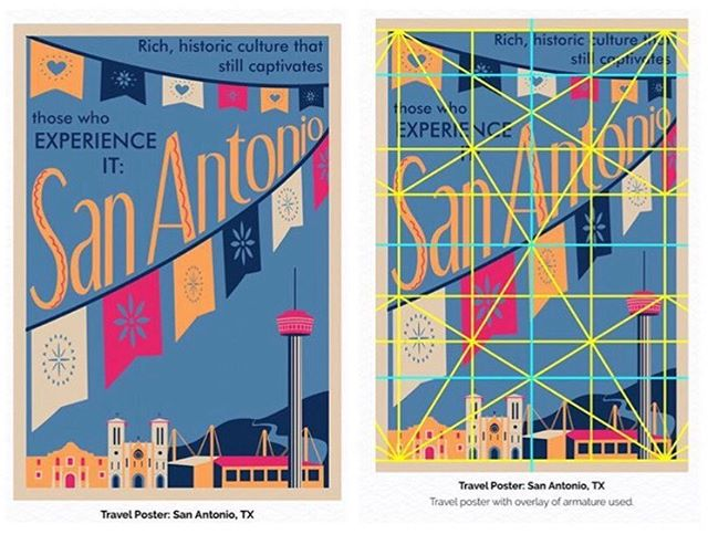 Travel #poster of my hometown #sanantonio #texas #graphicdesign #armature #scad #posterdesign #design #scaddotedu #daisylaparra (March 2019) . . . Ⓒ Daisy Laparra