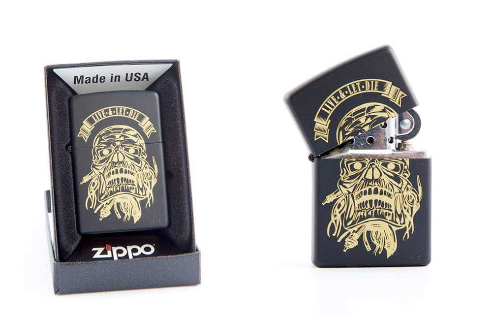 Laser personalised Zippo Lighter