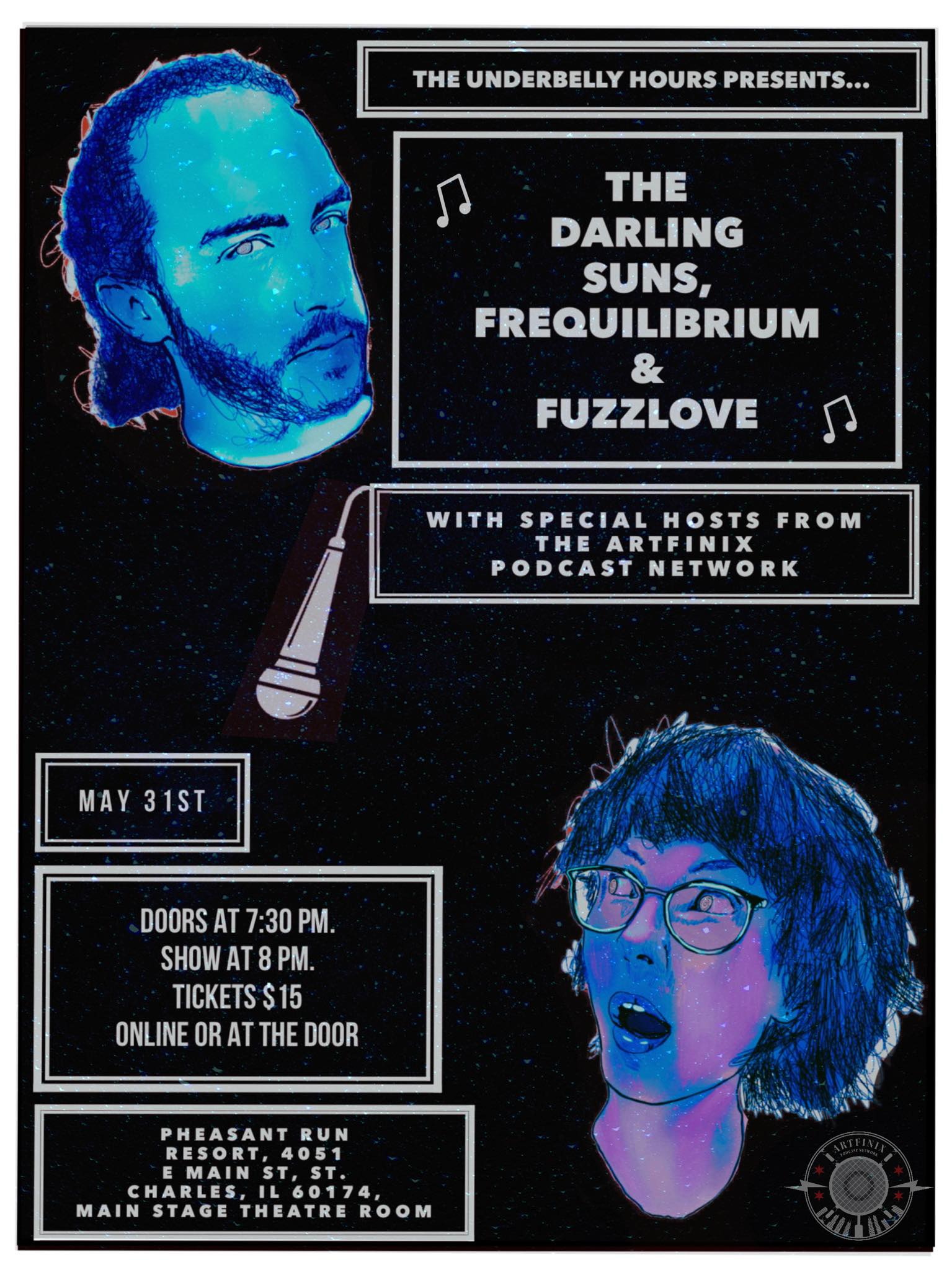 5/31  at  Pheasant Run  in  St. Charles, IL.  w/  Fuzzlove & Frequilibrium