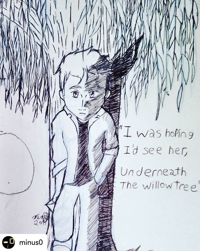 Shout out to @minus0 for this awesome fan art of our song Willow Tree. ☀️