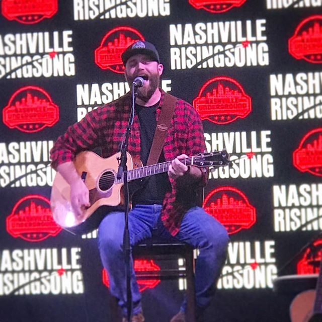 Had a blast last night playing for @nashrisingsong I'll definitely be back. It was great meeting new people and hearing new songs!! • • • #singersongwriter #nashville #soundthealarm #countrymusic #nashvillerisingsong #getemnexttime #beardsofnashville