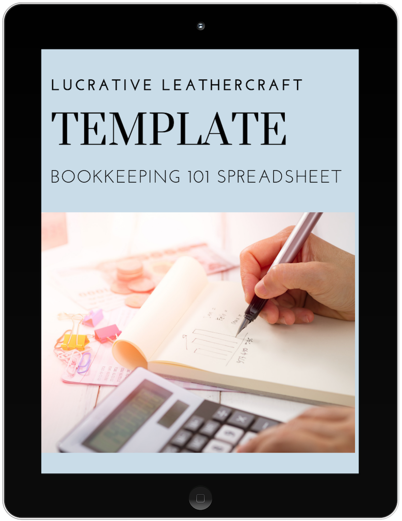 BOOKKEEPING 101 SPREADSHEET - Spreadsheet template and video that shows you how to use a simple spreadsheet to keep track of your income and expenses so you can track your profit month after month.