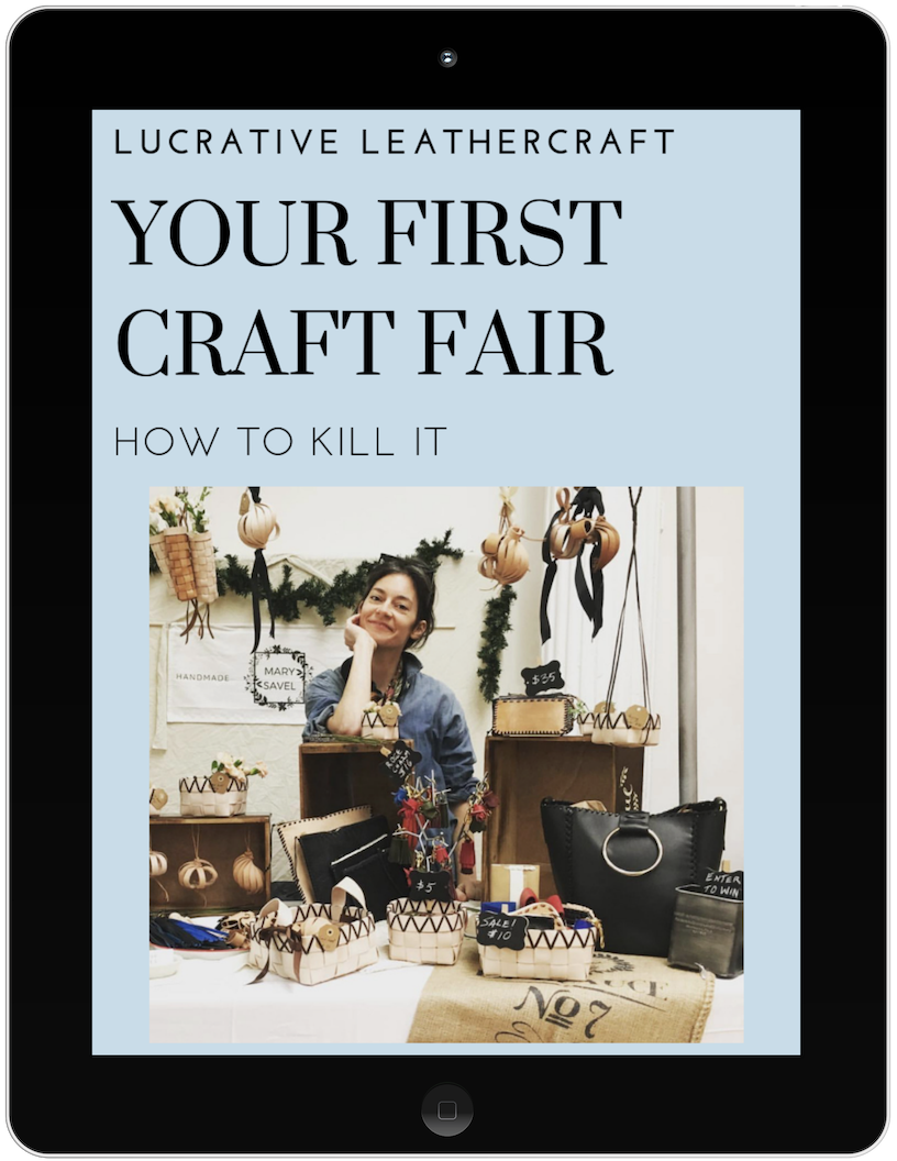 HOW TO KILL IT AT YOUR FIRST CRAFT FAIR - An eguide telling you exactly what to do and what not to do to at your first craft fair. Attract shoppers to your table , pitch your products and make sales.