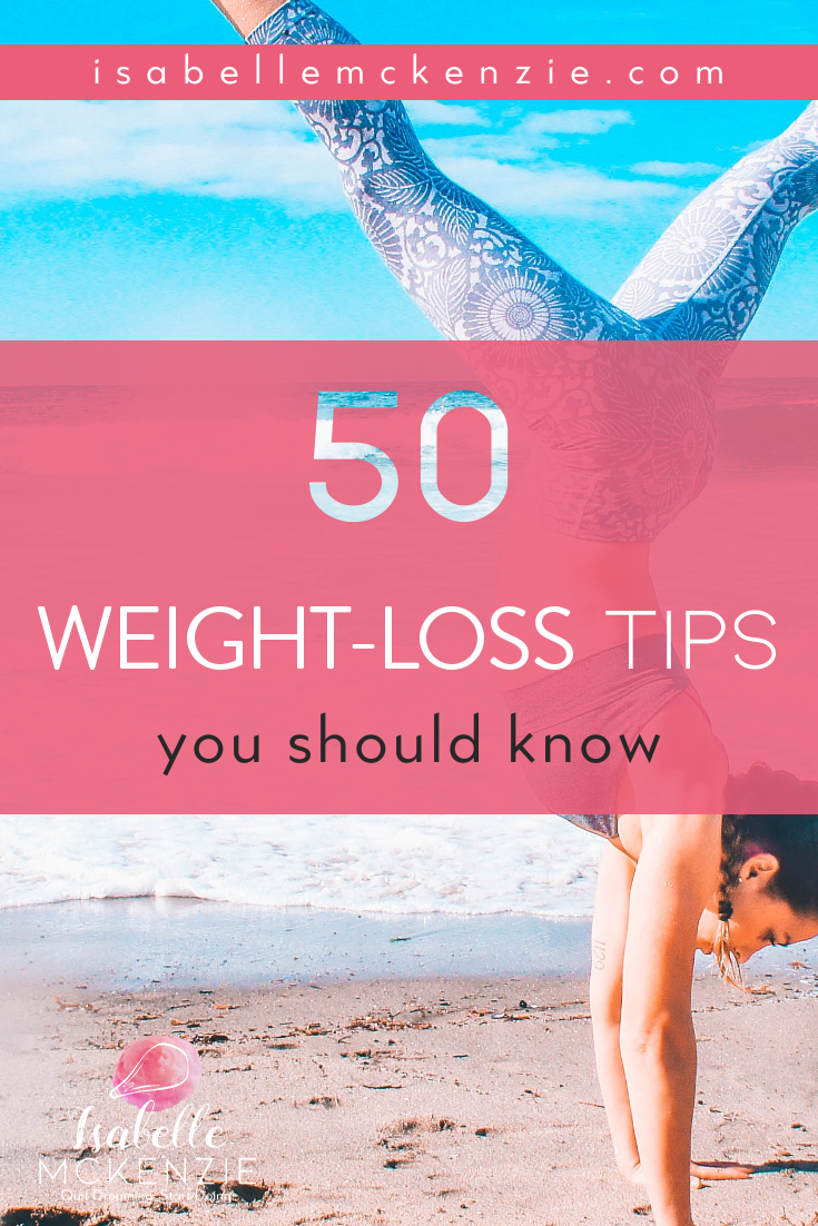 50 Weight Loss Tips You Should Know