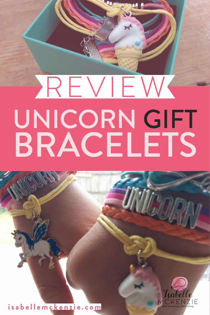 Review Unicorn Gift Bracelets by Boonix