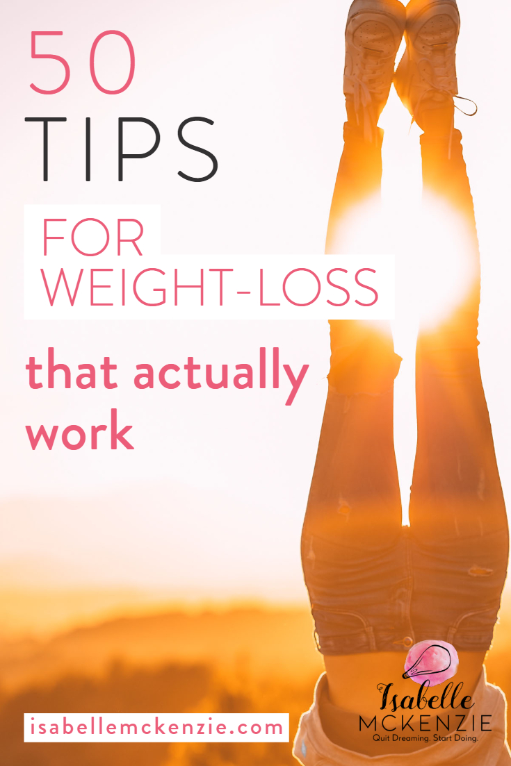 Roundup: 50 Simple Weight Loss Tips You Should Know