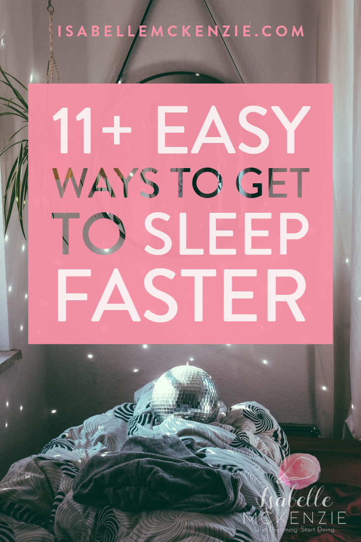 12 Simple Tips for Better Sleep