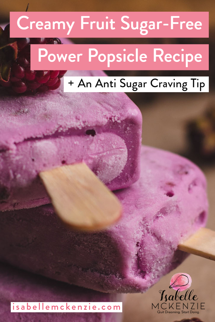 Sugar-Free Fruity Coconut Power-Pops (and How to Deal With Sugar Cravings)