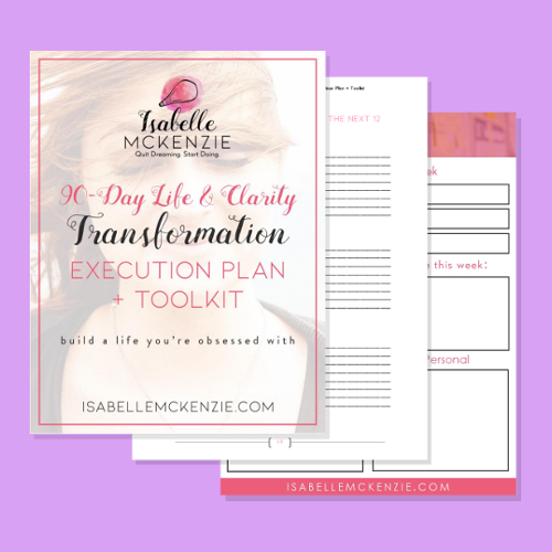 90-Day Life & Clarity Transformation Execution Plan + Toolkit