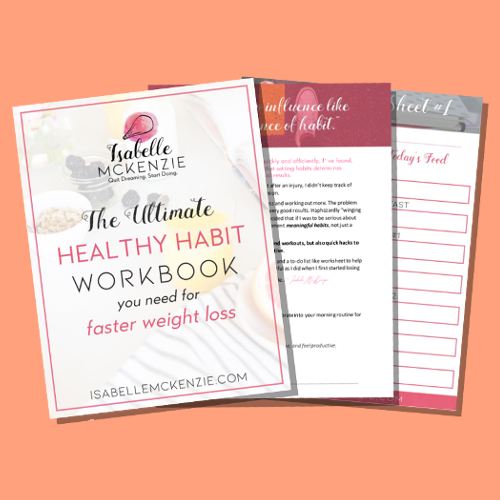 THE Ultimate Healthy Habit Workbook You NEED To Be Using To Lose Weight NOW