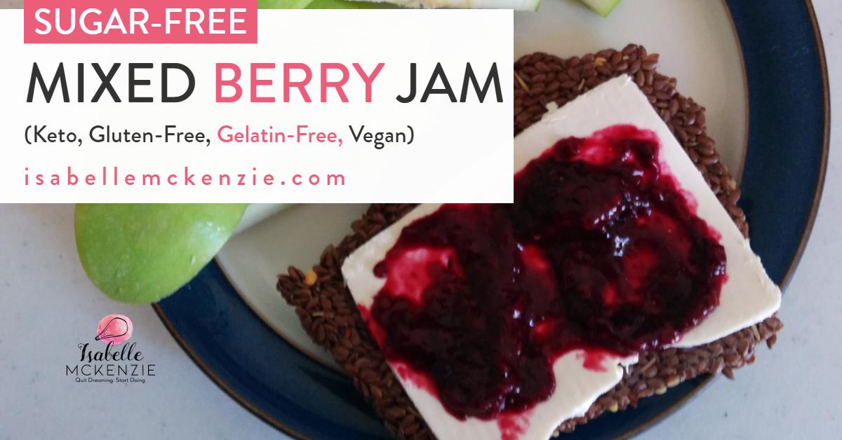 Sugar-Free Mixed Berry Jam Recipe -