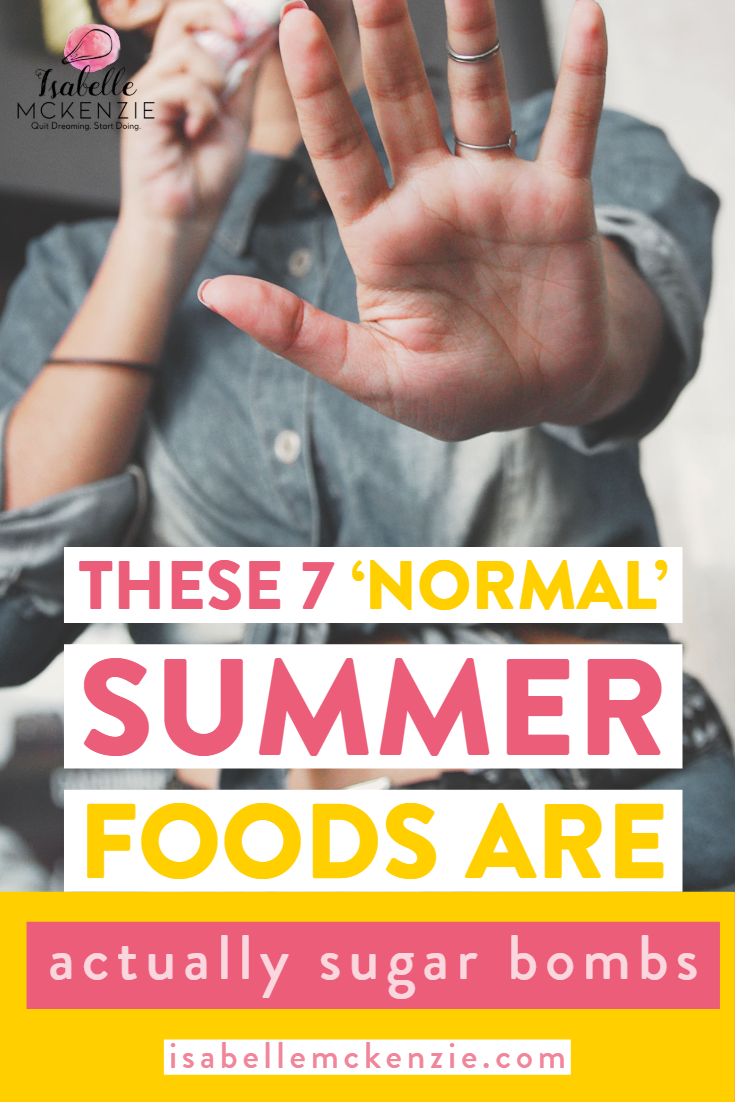 These 7 'Normal' Summer Foods Are Actually Sugar Bombs