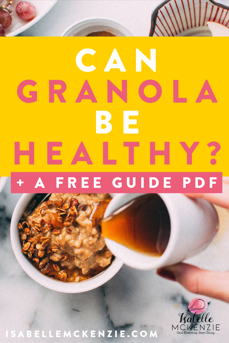 Can Granola Be Healthy?