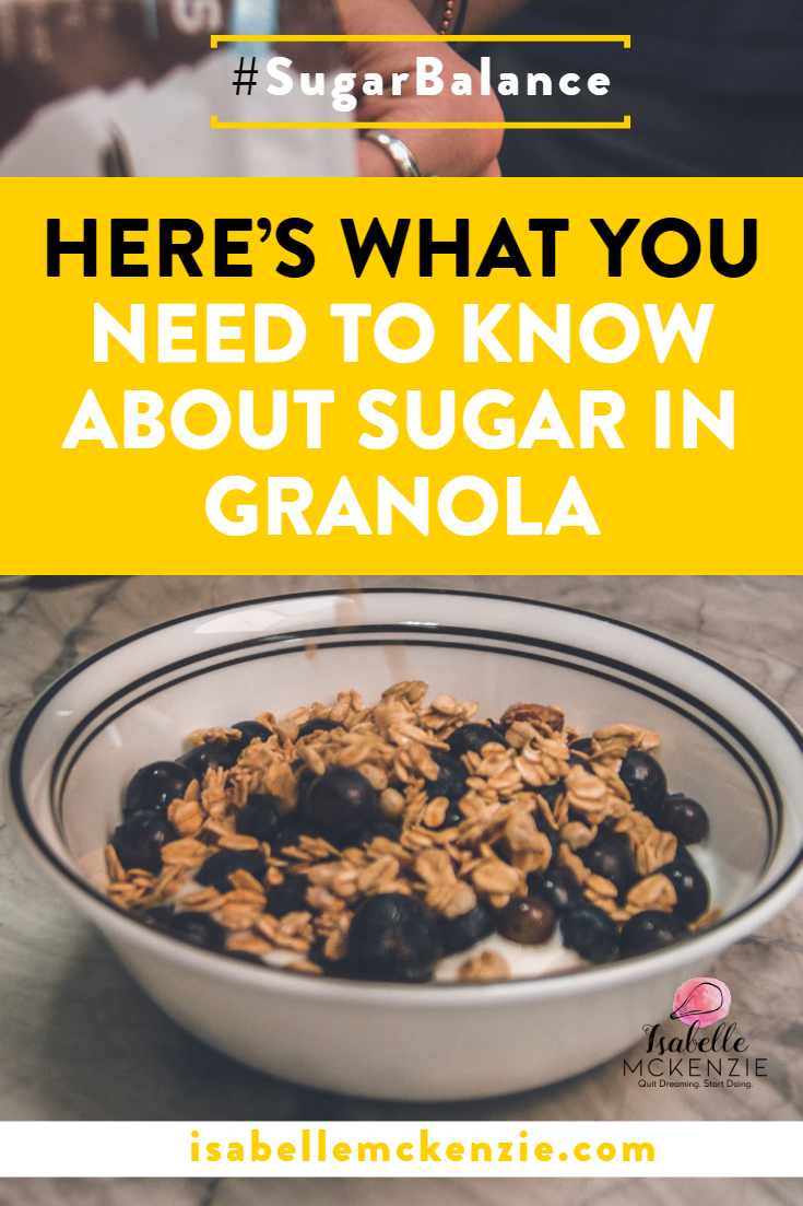 Here's What You Need To Know About Sugar In Granola