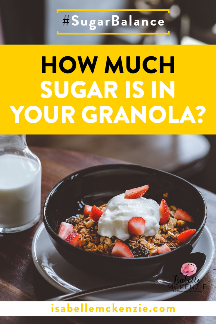 How Much Sugar is in Your Granola?
