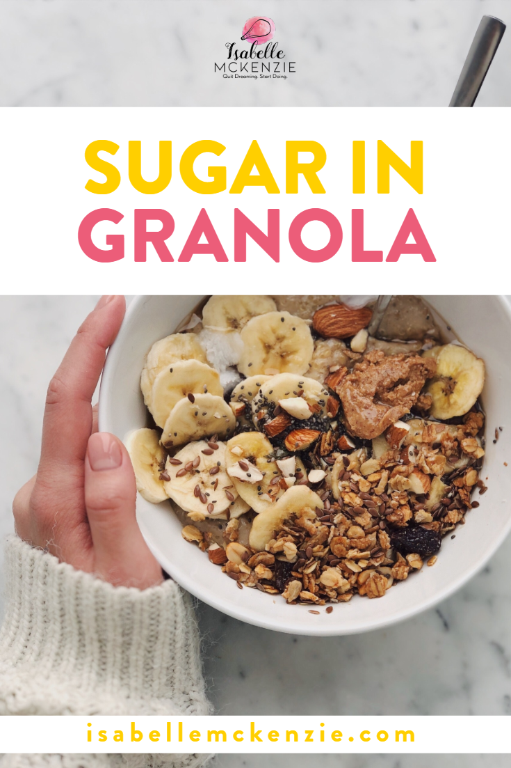 Sugar in Granola