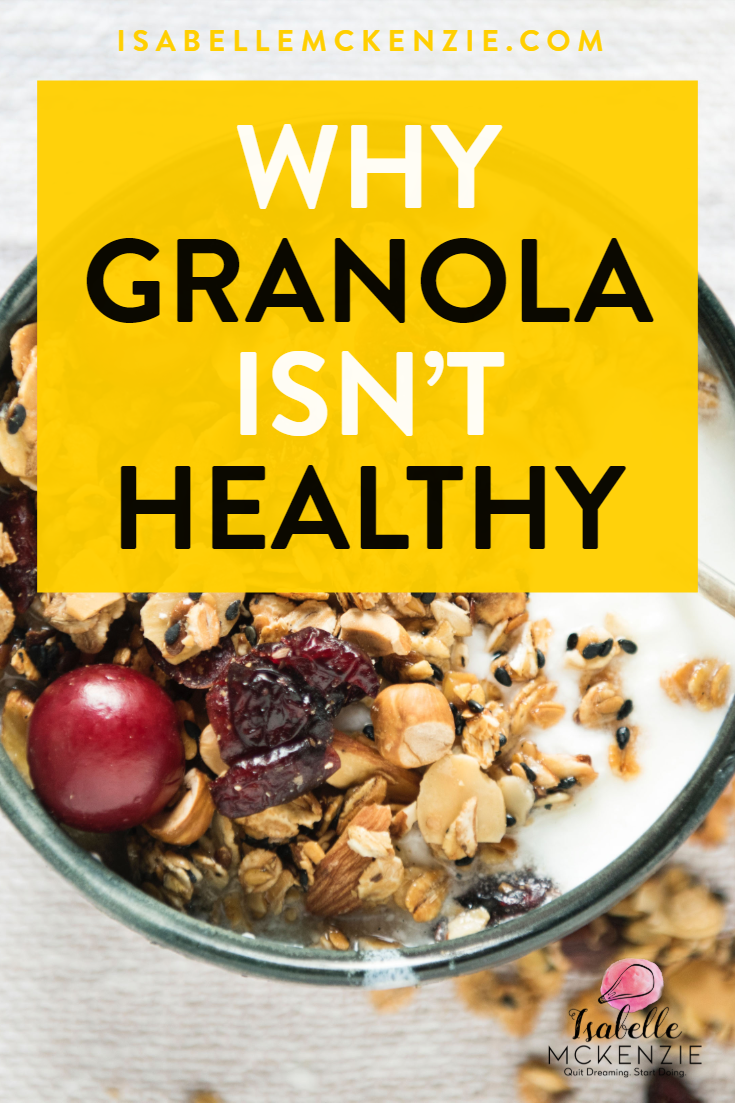 Why Granola Isn't Healthy