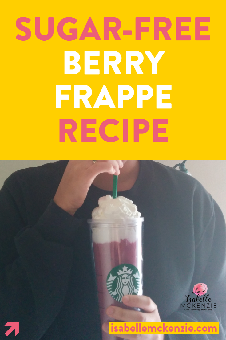 Sugar-Free Berry Frappe Recipe (Keto, Gluten-Free, Vegan Option) - Isabelle McKenzie