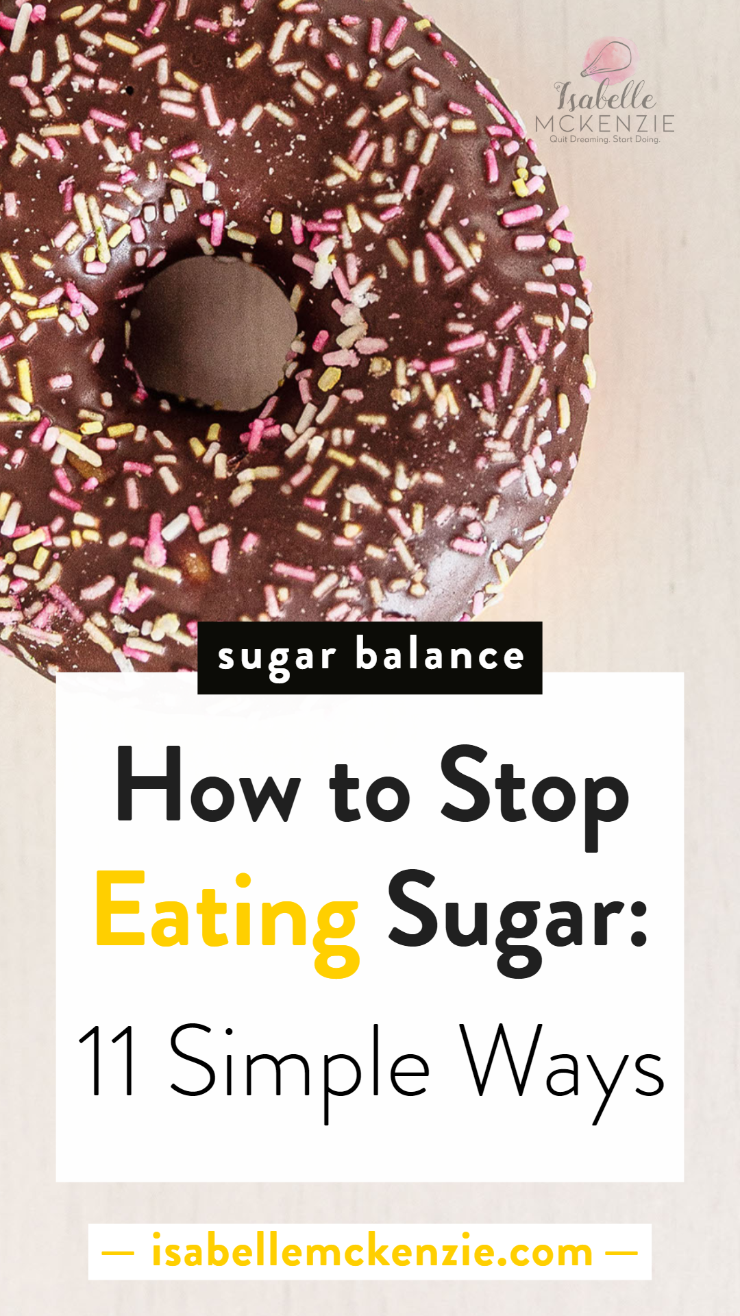 How to Stop Eating Sugar: 11 Simple Ways