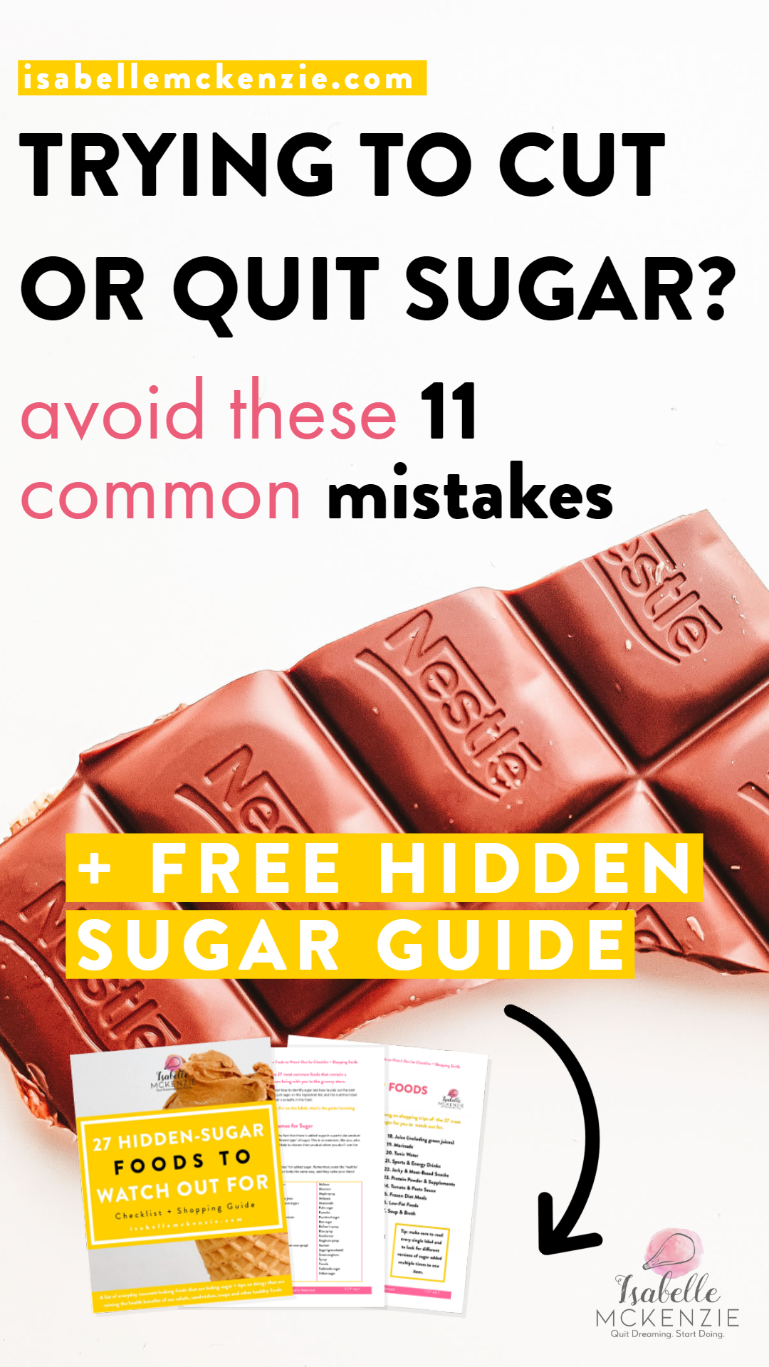 Trying to Cut or Quit Sugar? Avoid These 11 Common Mistakes - Isabelle McKenzie