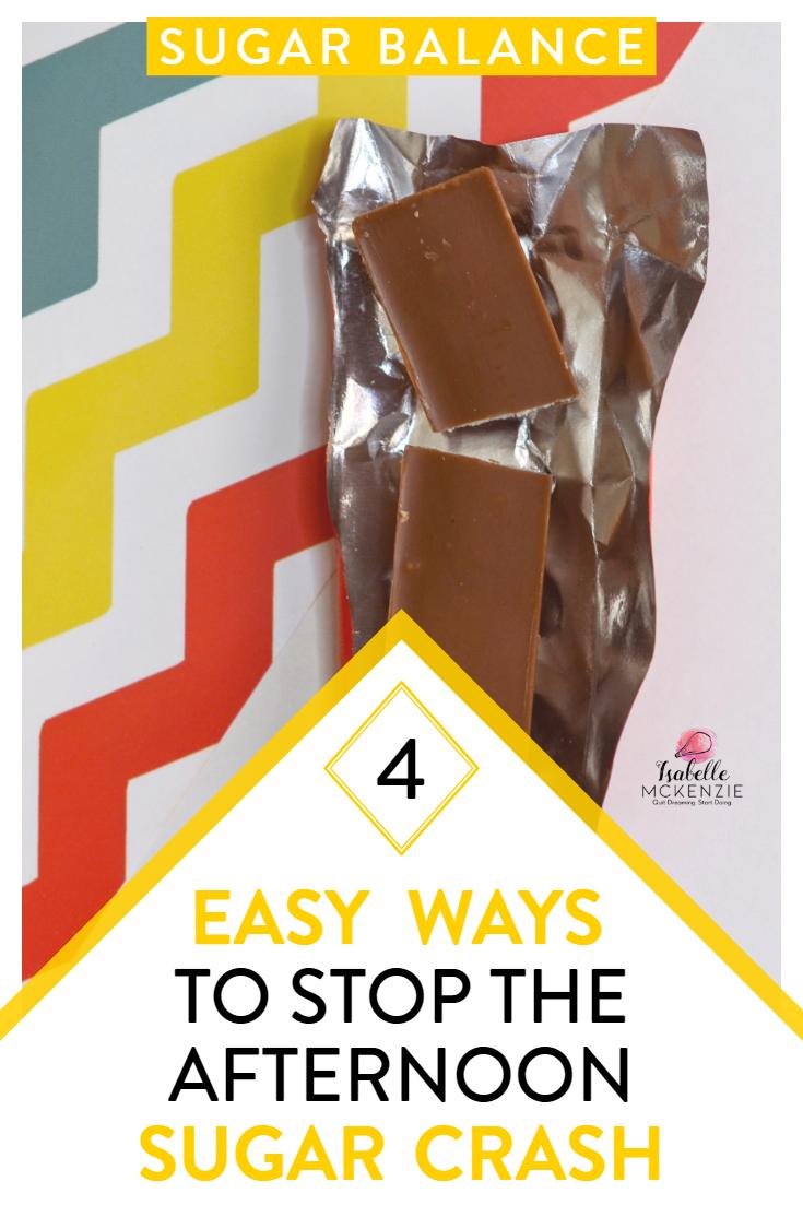 4 Easy Ways to Stop the Afternoon Sugar Crash - Isabelle McKenzie