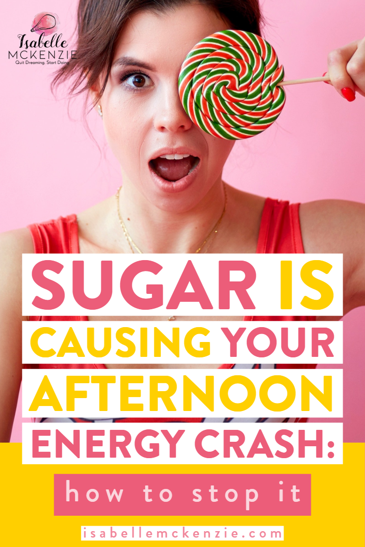 Sugar is Causing Your Afternoon Energy Crash: How to Stop It  - Isabelle McKenzie