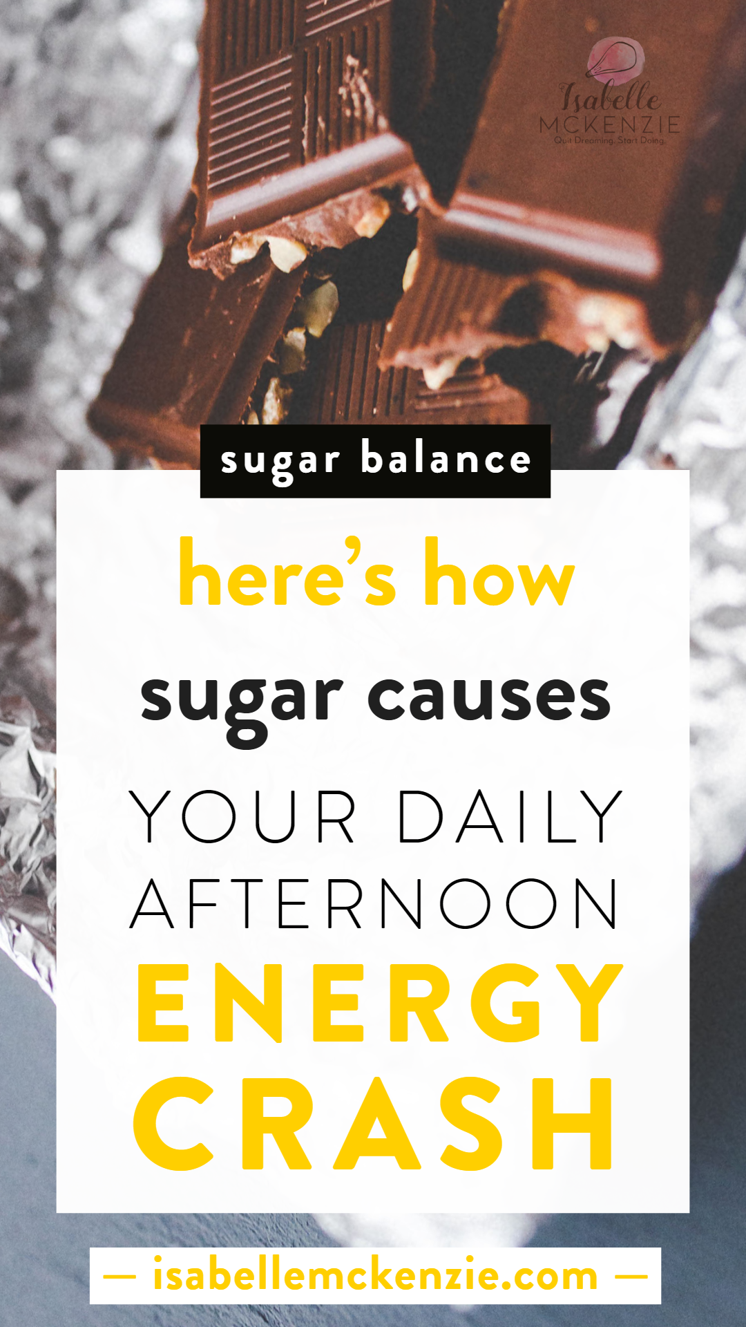 Here's How Sugar Causes Your Daily Afternoon Energy Crash - Isabelle McKenzie