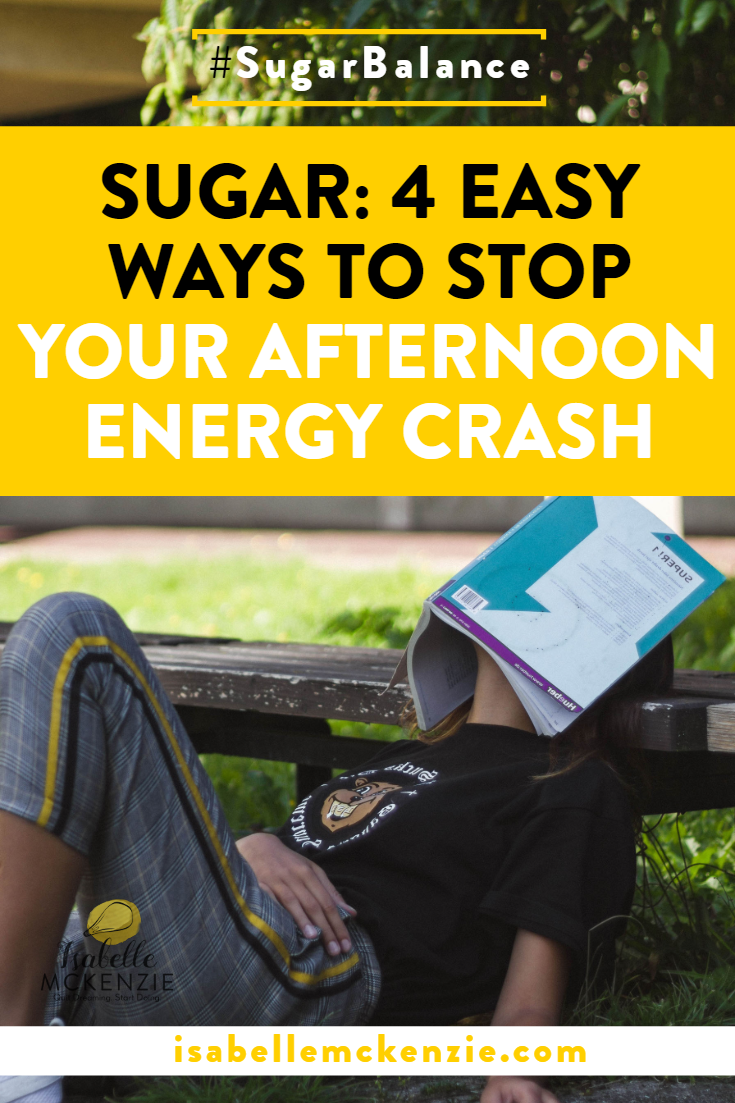 Sugar: 4 Easy Ways to Stop Your Afternoon Energy Crash - Isabelle McKenzie