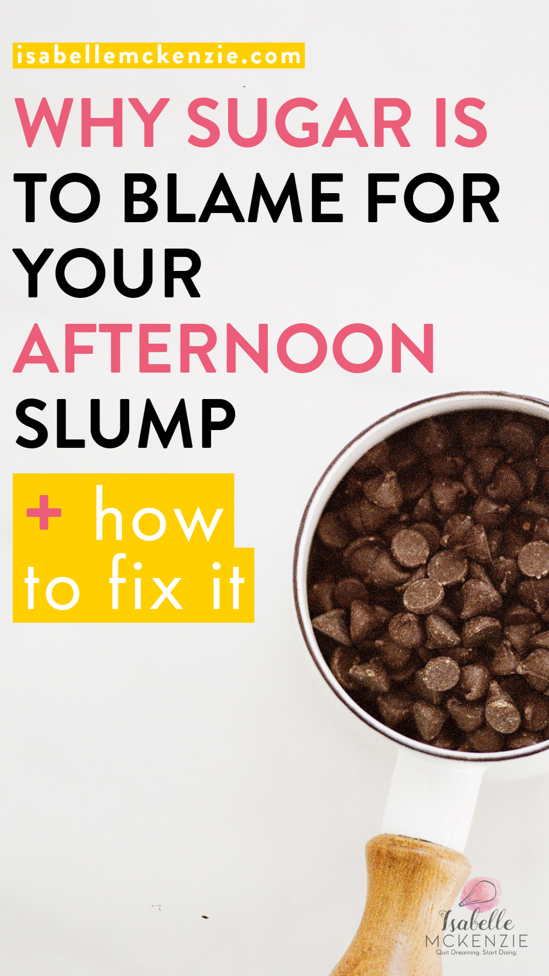Why Sugar is to Blame for Your Afternoon Slump + How to Fix It - Isabelle McKenzie