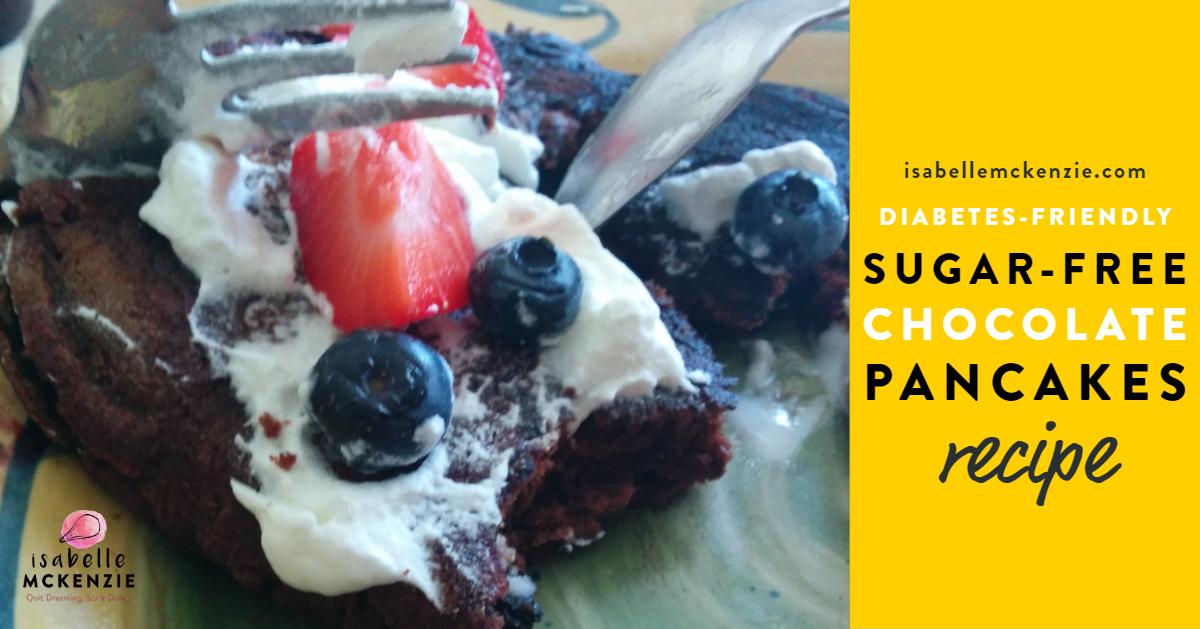 Sugar-Free Chocolate Pancakes Recipe (Diabetes-Friendly) - Isabelle McKenzie