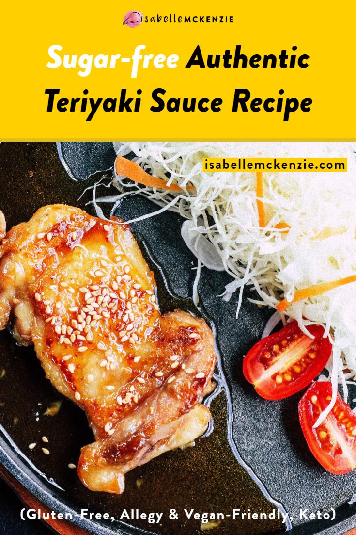 Sugar-Free Authentic Teriyaki Sauce Recipe (Gluten-Free, Vegan, Keto)