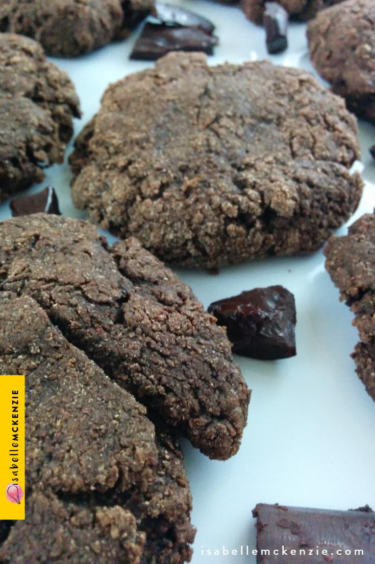 Fudgy Chocolate Banana Cookies Recipe (Sugar-Free, Vegan)