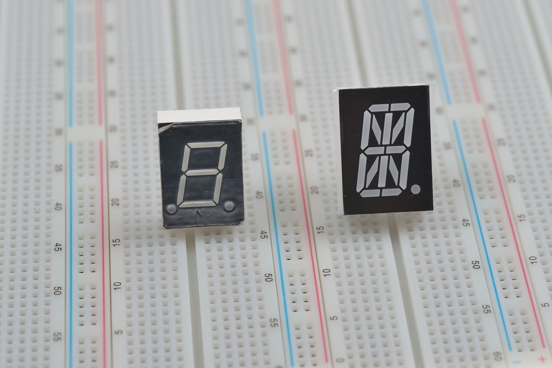 7 Segment at 16 Segment Displays