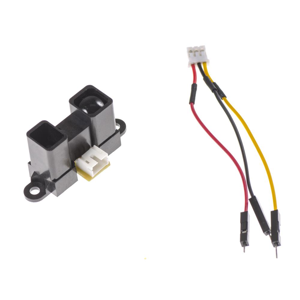 IR Sensor (Left). JST Connector (Right)