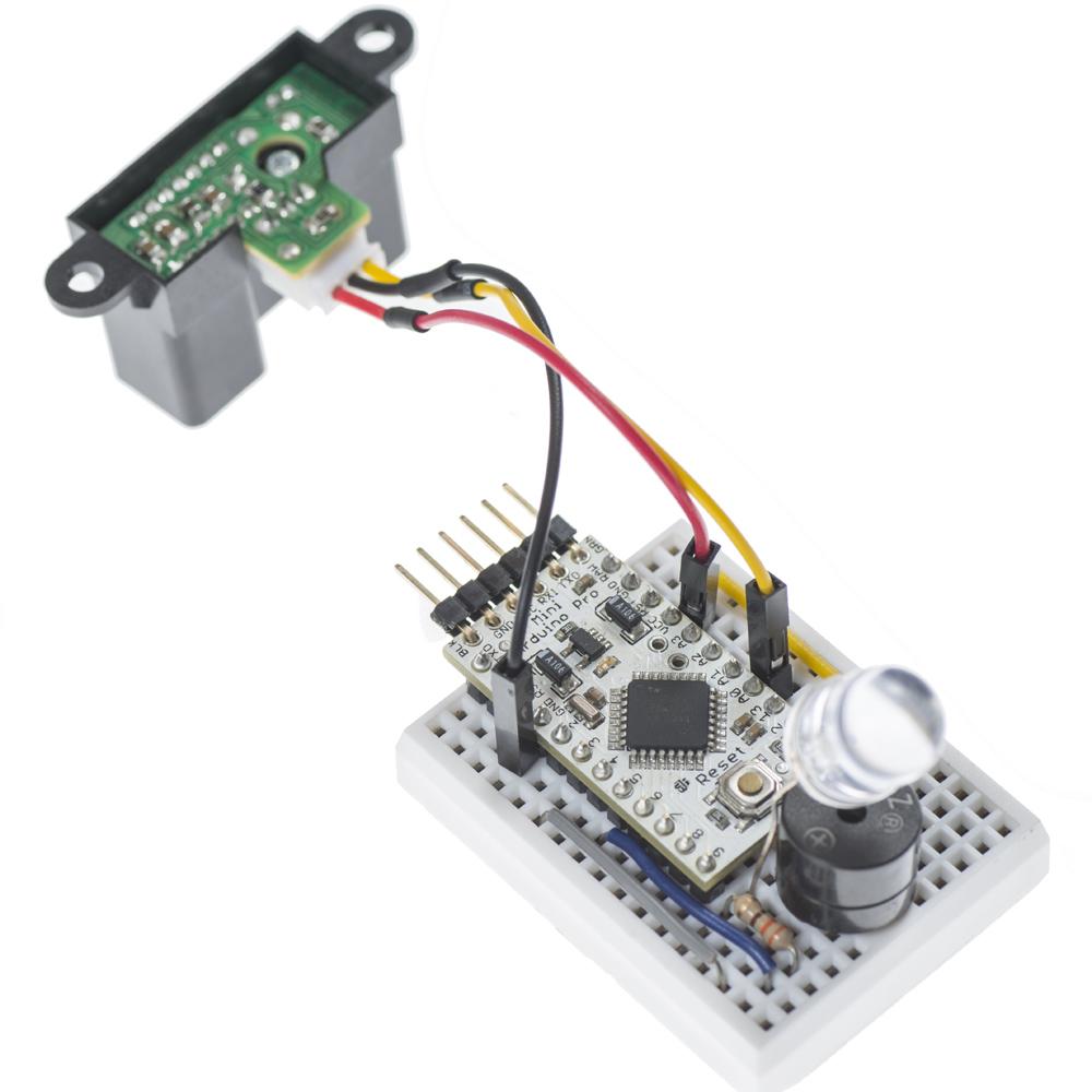 IR Sensor and Arduino Mini Pro Connection