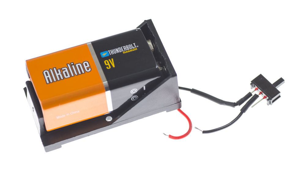 9V Battery with Switch