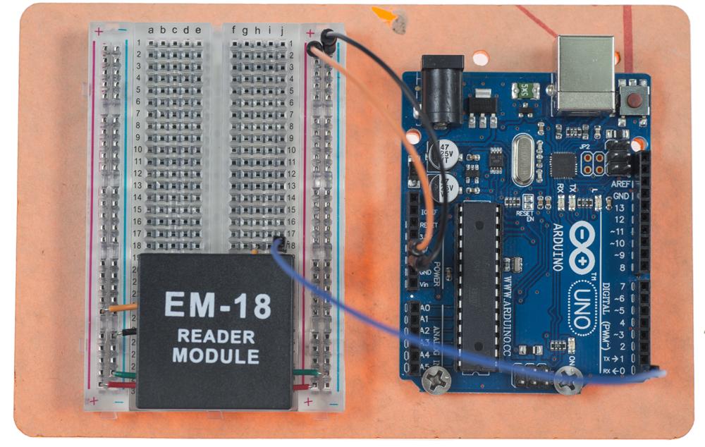 RFID Reader Connection
