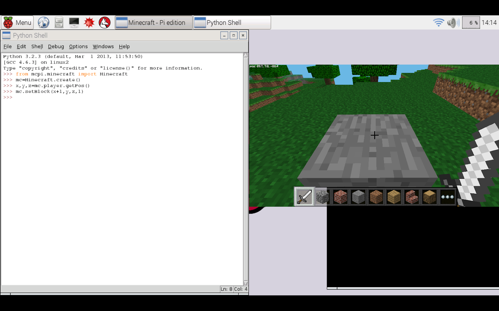Learn How to Program in Python with Minecraft | Jaycon Systems