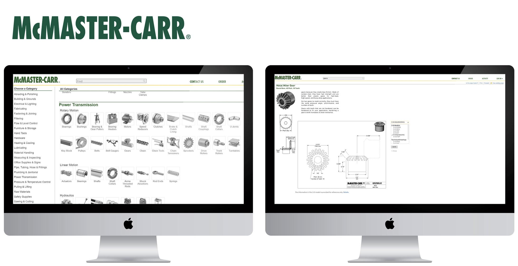 Official Website:  www.mcmaster.com