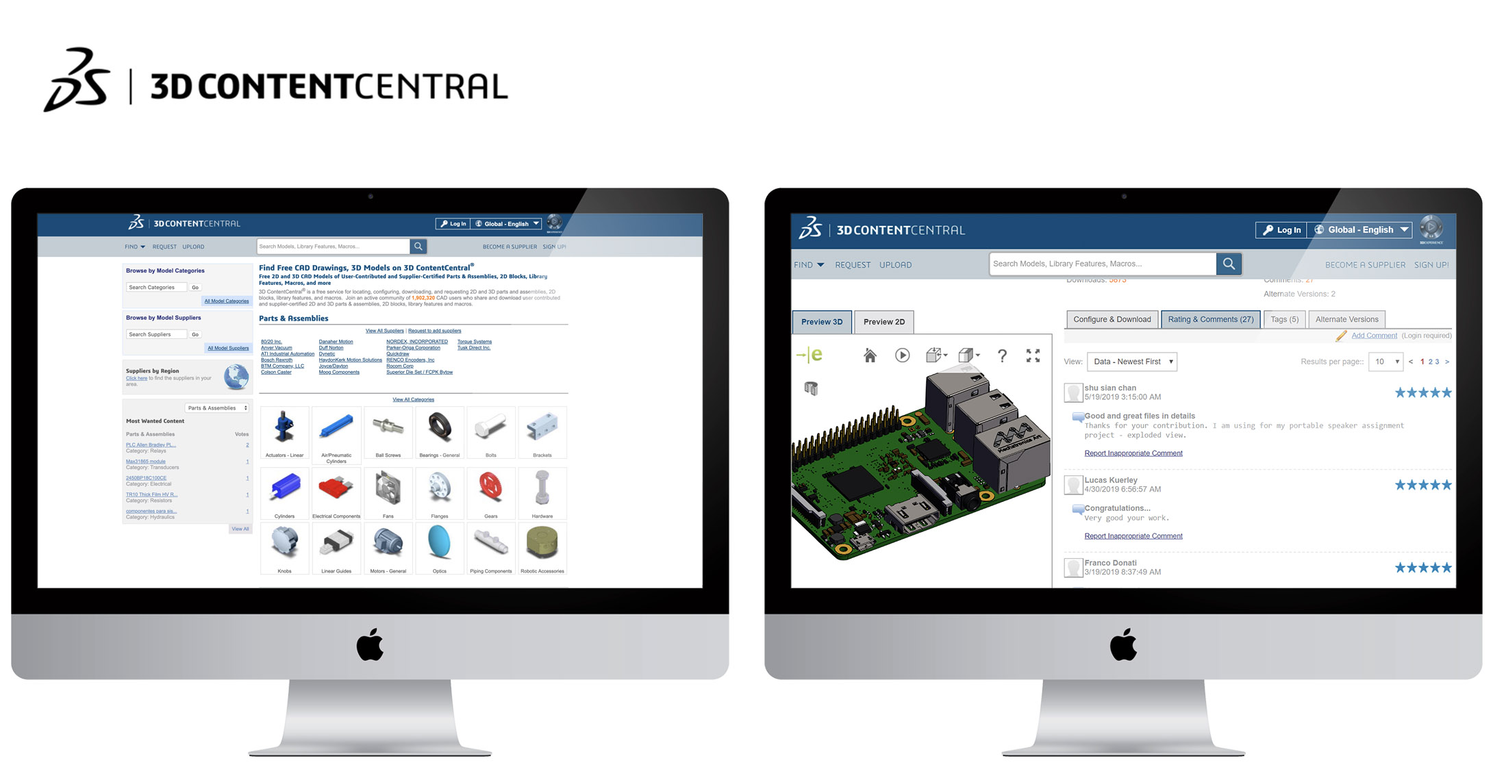 Top 6 CAD Libraries Engineers and Product Designers Must