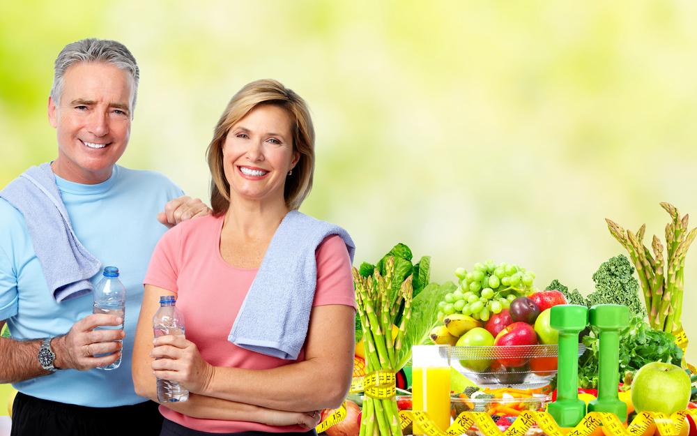 seniors having healthy lifestyle