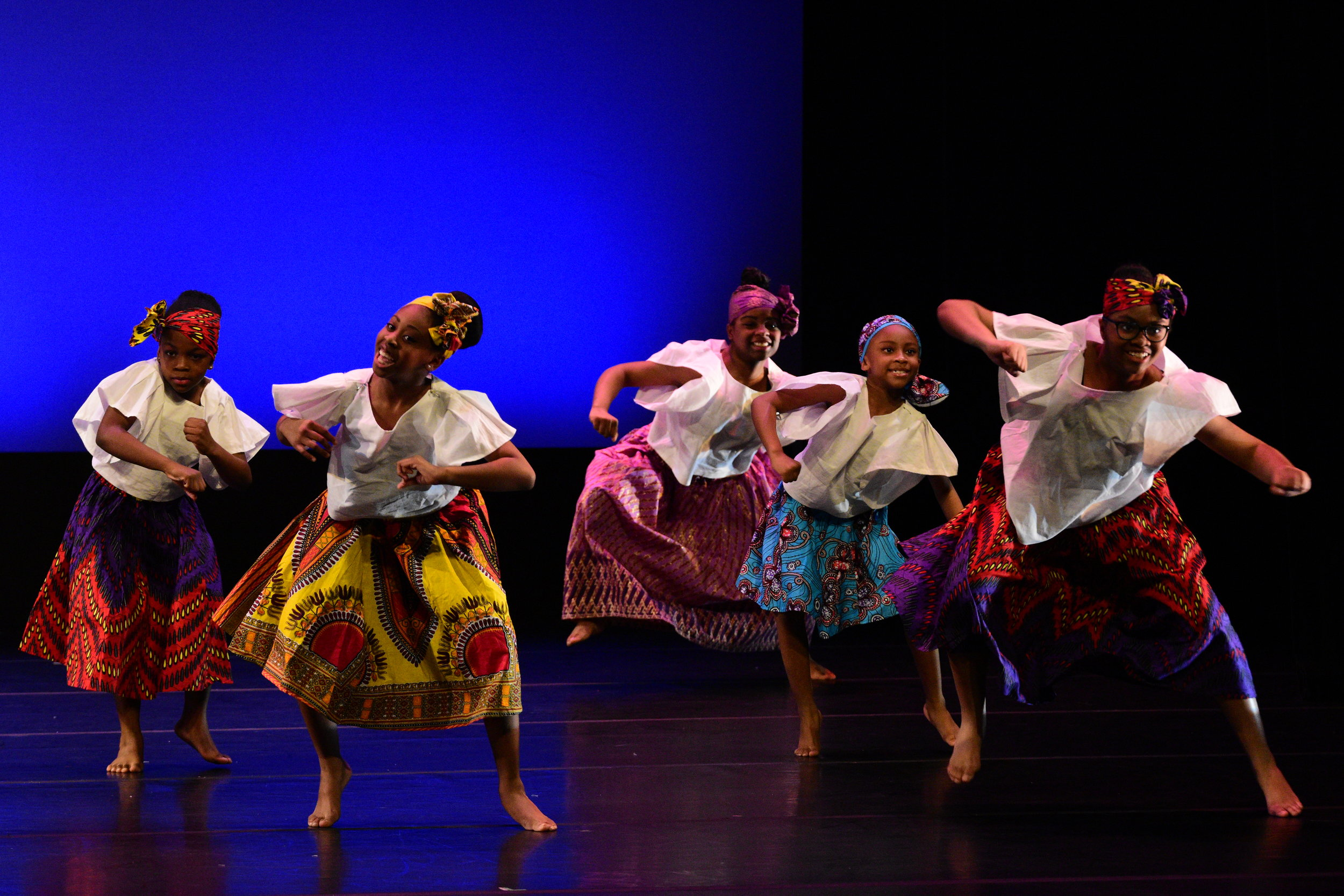 HDAT Level 1 students perform during the Annual Spring Dance Concert