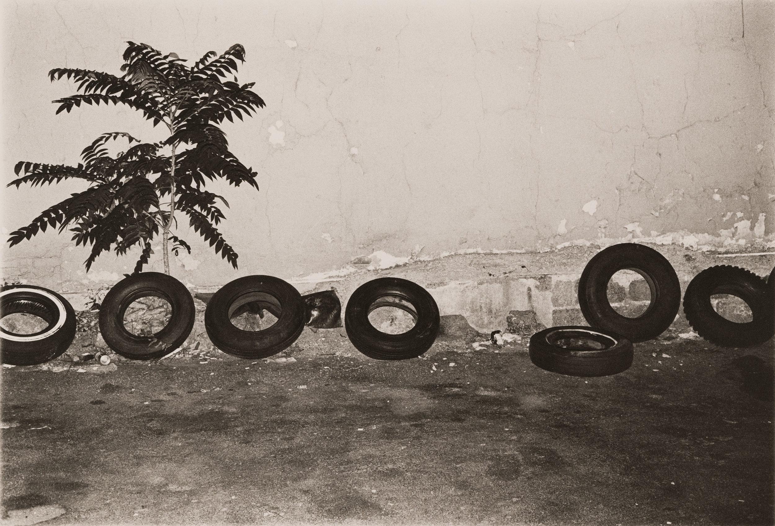 Landscape #13 [tires], 1976