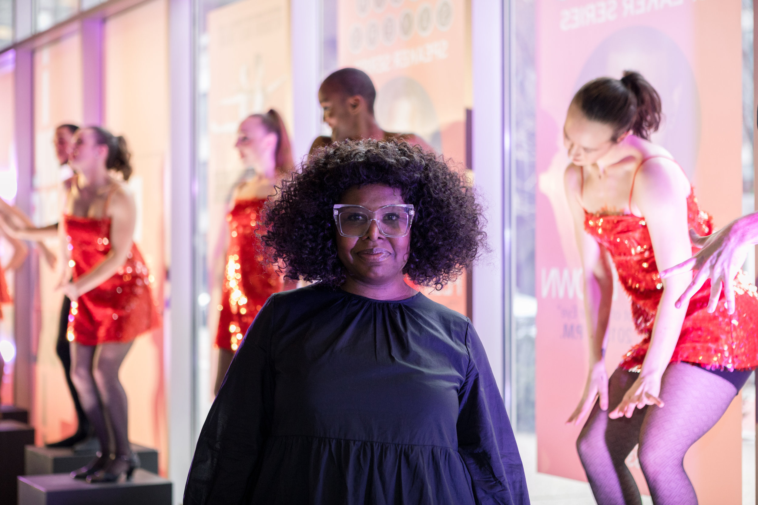 Staycee Pearl at the Pittsburgh Ballet Theatre + Dance Theatre of Harlem Preview Party in March 2019.   Photo courtesy of Kelly Perkovich.