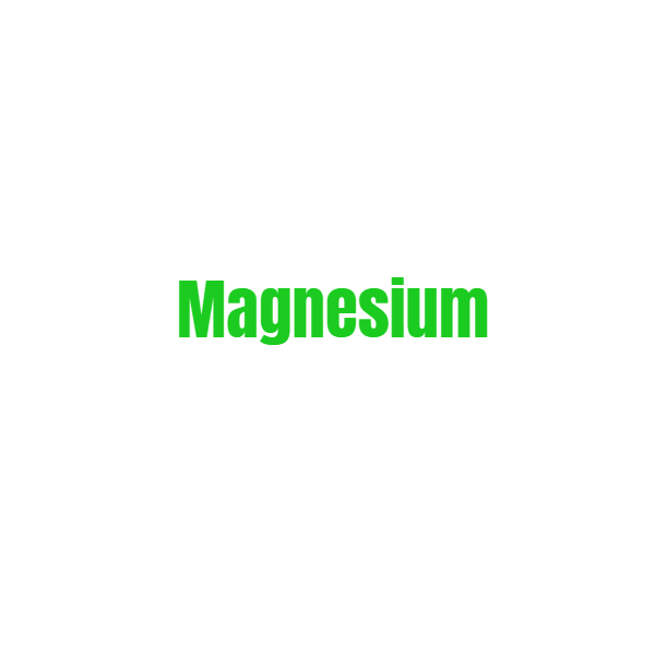 Is involved in more than 300 biochemical processes in the body including proper bone formation and maintenance of normal muscle and nerve function. 57% of the US population is magnesium deficient - that's crazy!
